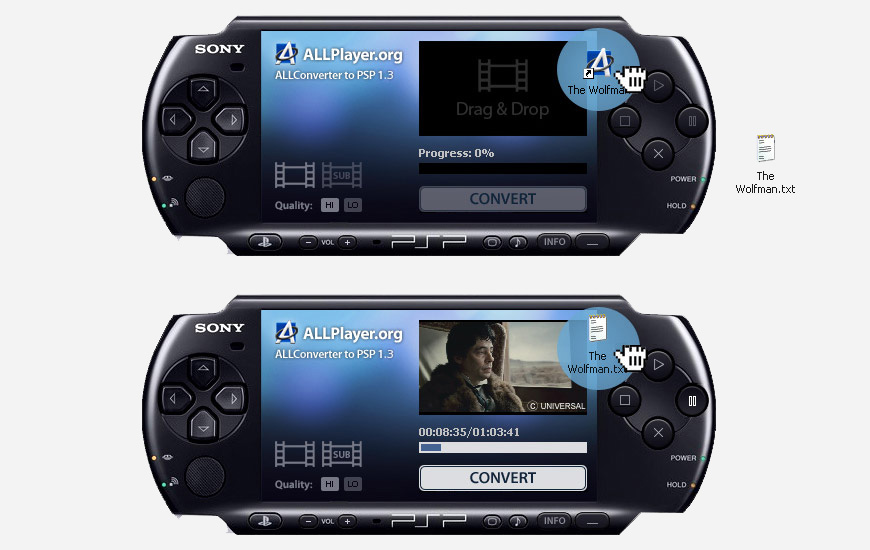 ALL Converter to PSP